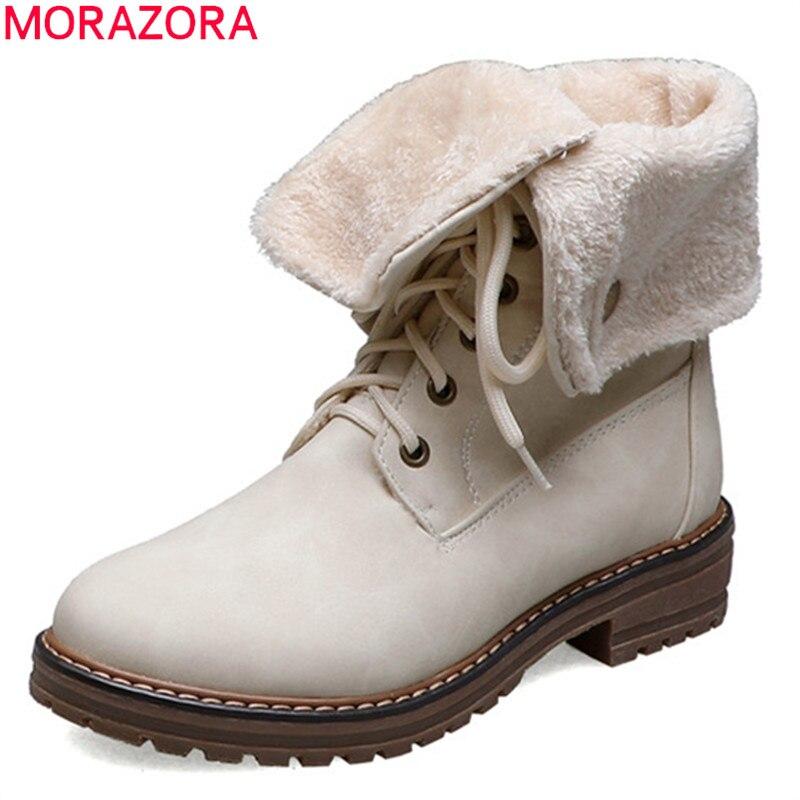 MORAZORA 2019 hot sale women ankle