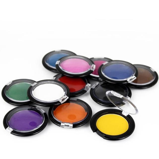 Warna Rambut Rambut Sementara Dye Kapur Kompak Permen Warna Powder