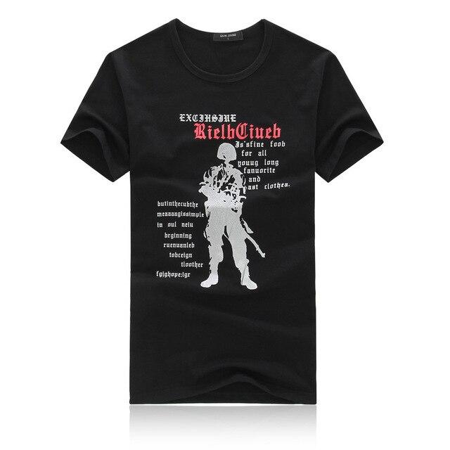 2017 Лето Новые Тенденции Моды Диких Городских Популярные мужская Рубашка с короткими рукавами мужская Шею Polo-рубашка Печати