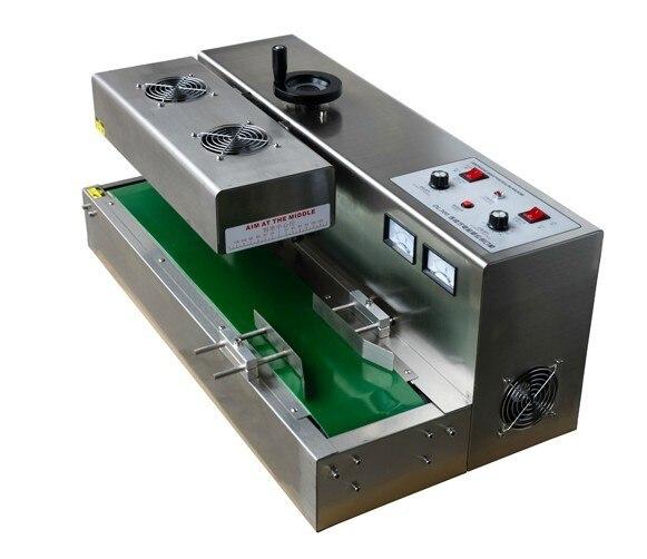 Machine automatique de cachetage de chaleur dinduction de bouteille en verreMachine automatique de cachetage de chaleur dinduction de bouteille en verre
