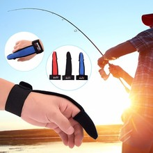 1pcs Sea Ice Single Finger Protector Fishing Gloves for Fishermen One Singer Surfcasting Non-Slip Gloves Useful Fishing Tools