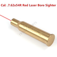 Cal: .7.62x54R Red Laser Bore Sighter Copper Cartridge Boresighter Pistol Gun Rifle Brass Hunting Caza(China)