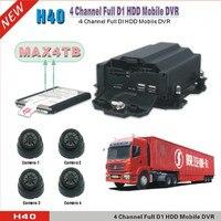 Wiif GPS Функция Видеорегистраторы для автомобилей ch h.264 облако Tech передвижной DVR погрузчик видеонаблюдения MDVR Поддержка max 4 ТБ HDD двойной sd кар