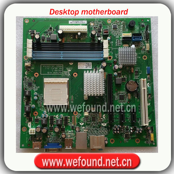100 Working Desktop Motherboard For 570 MA785R 483BJ01011 AM3 ATX Motherboard 4GJJ System Board Fully Tested