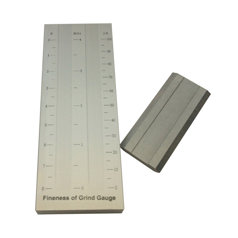 5um Double Groove Scraper Fineness Meter BGD242/3 (0-100um) Grindometer Use For Coating