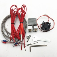 1 stücke Chimäre Plus + Dual Extrusion Kit 2 in 2 out hotend kit 1 75mm 0 4mm