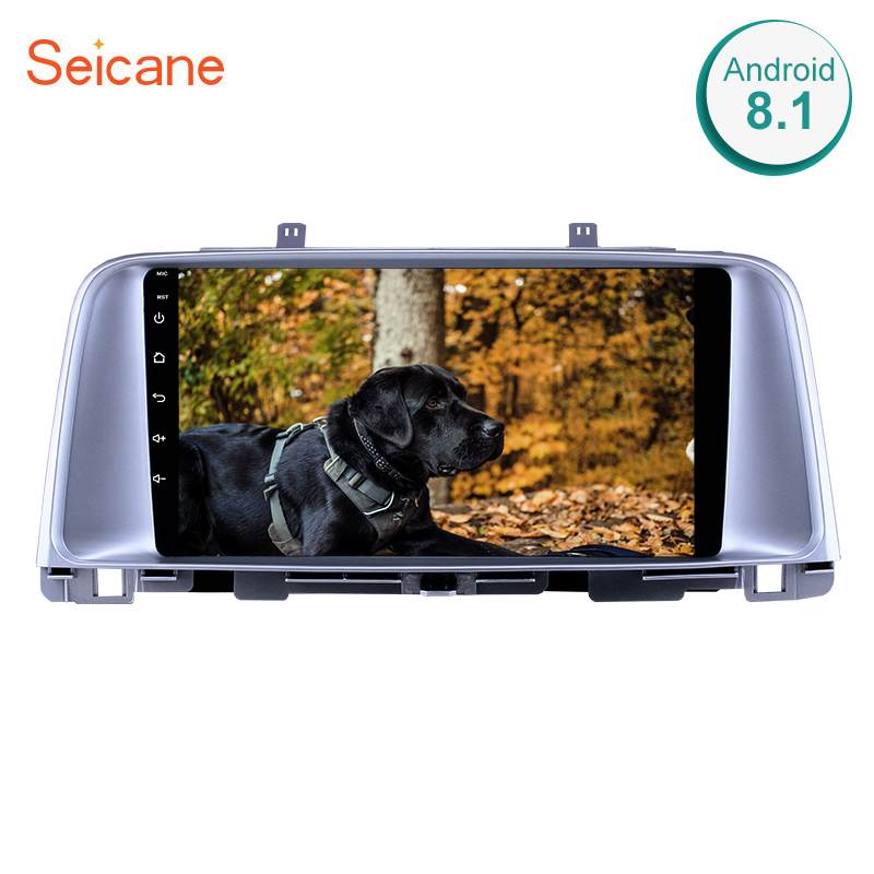 Seicane 2din Android 8.1 Car GPS navi Head Unit Player For Kia K5 2015 2016 2017 support SWC 3G Backup camera Bluetooth Wifi image