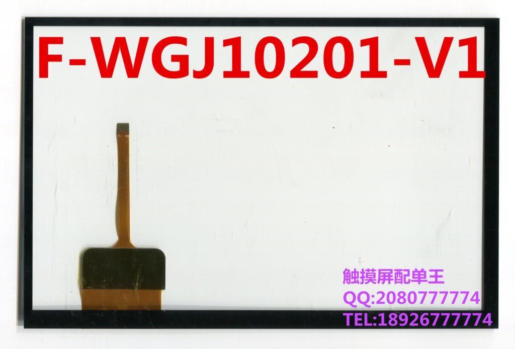 10.1 inch black in stock F-WGJ10201-V1 tablet pc touch screen panel Digitizer Glass sensor replacement F-WGJ10201