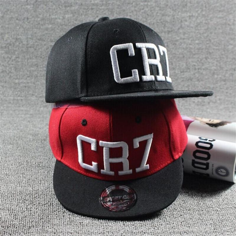 2017 Brand Children Soccer Star Ronaldo CR7 Embroidery Kids Baseball Cap Hat Bone Boys Girls Sports Snapback Hip-hop Caps Gorras