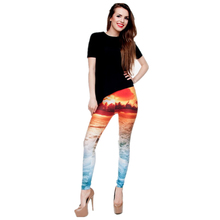 SPECIAL OFFER! 3D Sunset Design Beach Leggings