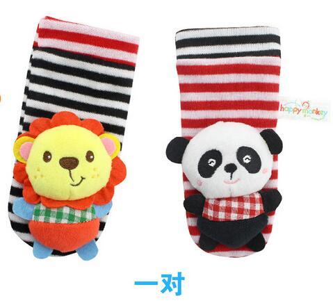 new arrival font b baby b font short socks Lovely cotton kid infant animel lion Monkey