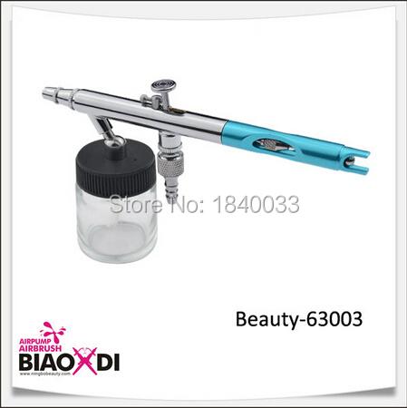 Wholesale Price Beauty-63003 Airbrush Spray Gun For Temporary Body Painting Professional Airbrush Tattoo Pen Kit Free Shipping