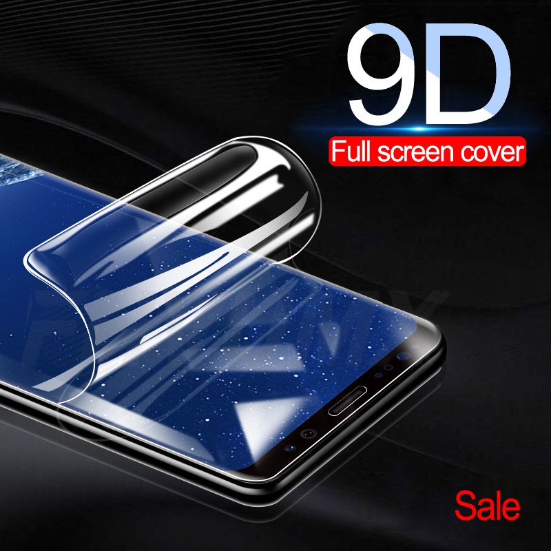 9D Full Cover Screen Protector Film For Samsung Galaxy S9 S8 S6 S7 Edge S8 S9 Plus Soft Protective Film (Not Tempered Glass)