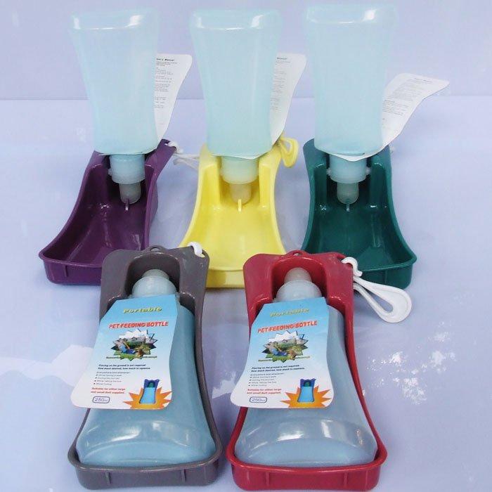Plastic Pet Travel Water Drinking Bottle Portable Pet Dog: Wholesale Pet Drinking Bottle 500ml Dog Water Feeding