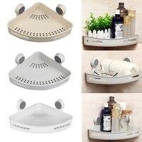 Gray/White/Beige Wall Mounted Bathroom/Hotel/Kitchen/Living Room Toiletries Holder Toothbrush Storage Shelf Rack
