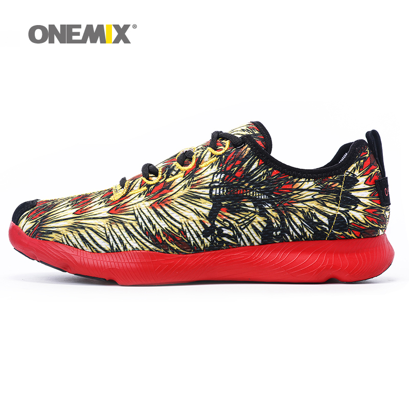 ONEMIX Lightweight Women Running Shoes Breathable Men Sport Sneakers Outdoor Walking Shoes for Men Trainers Jogging Shoes onemix 2018 woman running shoes women nice trends athletic trainers zapatillas sports shoe max cushion outdoor walking sneakers