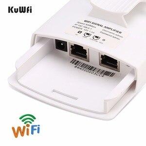 Image 4 - 야외 무선 와이파이 리피터 와이파이 익스텐더 300Mbps 2.4GHz 액세스 포인트 와이드 영역 방수 와이파이 앰프 와이파이 라우터