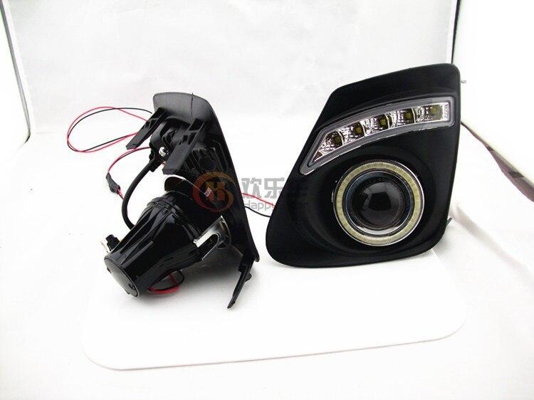 eOsuns COB Angel eye + LED დღისით - მანქანის განათება - ფოტო 6