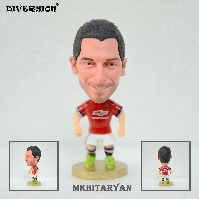 Soccer Star 22# MKHITARYAN (MU-2018) 2.5 Action Dolls Figurine soccerwe