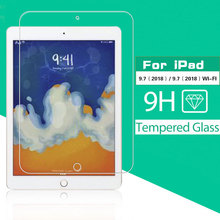 Premium Explosion Proof Tempered Glass Film For Apple ipad 9.7 2018 Wifi Tablet Glass Screen Protector 9.7 Film Front Cover