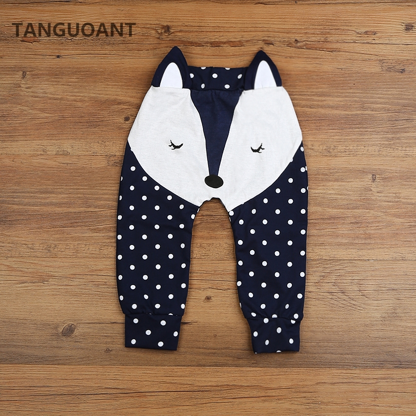TANGUOANT Hot Sale Baby Boys Pants Kids Girls Cotton Trousers Harem Pants Baby Girl Baby Boys Girls Clothes(China)