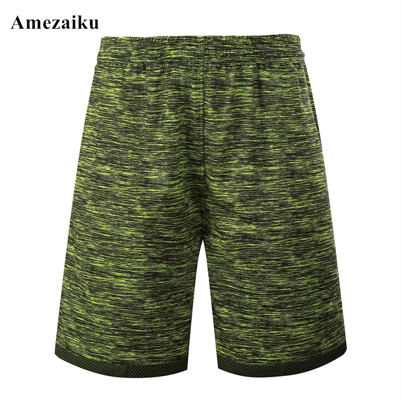 2017 new Mens green red shorts made of polyester active Durable short pocket back two side wear sporting casual
