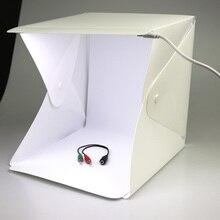 Studio Soft Box Portable Mini Foldable Camera Photo LED Photography Backdrop LED Light Room Tent Tabletop Shooting Lighting Box