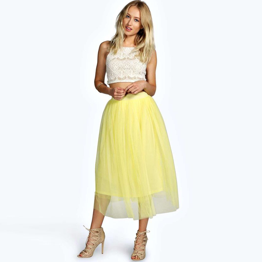 Online Get Cheap Yellow Midi Skirt -Aliexpress.com | Alibaba Group