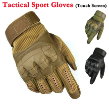 Rubber Knuckle Touch Screen Tactical Gloves Hunting Airsoft Military Full Finger Gloves Outdoor Sport Antiskid Cycling Gloves стоимость