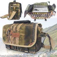 Bolso de caza a prueba de agua, bolso Militar de caza, Bolsa Molle para exteriores, cinturón de camuflaje táctico, mochila de hombro