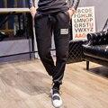 Moda Casual Calças Dos Homens Corredores Sweatpants casual Calças Homens Agasalho Para Acompanhar calças Sarouel