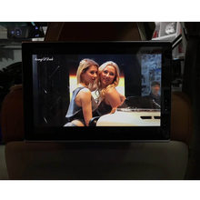In Car Television Auto Rear Seat Entertainment 11.8 Inch Android 6.0 System Headrest 4K HD DVD TV Monitor For Porsche Macan