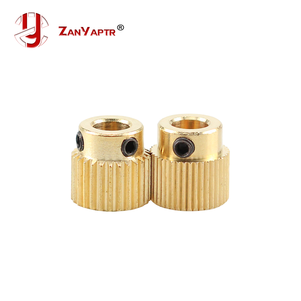 Mk7 MK8 26/40 Tooth 26Teeth/40Teeth Brass Drive Gear Planet Reducer Extruder Feeding Gear Extrusion Wheel For 3 D Printer Parts