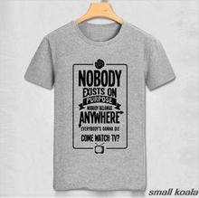 """R & M """"Nobody exists on purpose, nobody belongs anywhere, everybody's going to die"""" T-Shirt"""