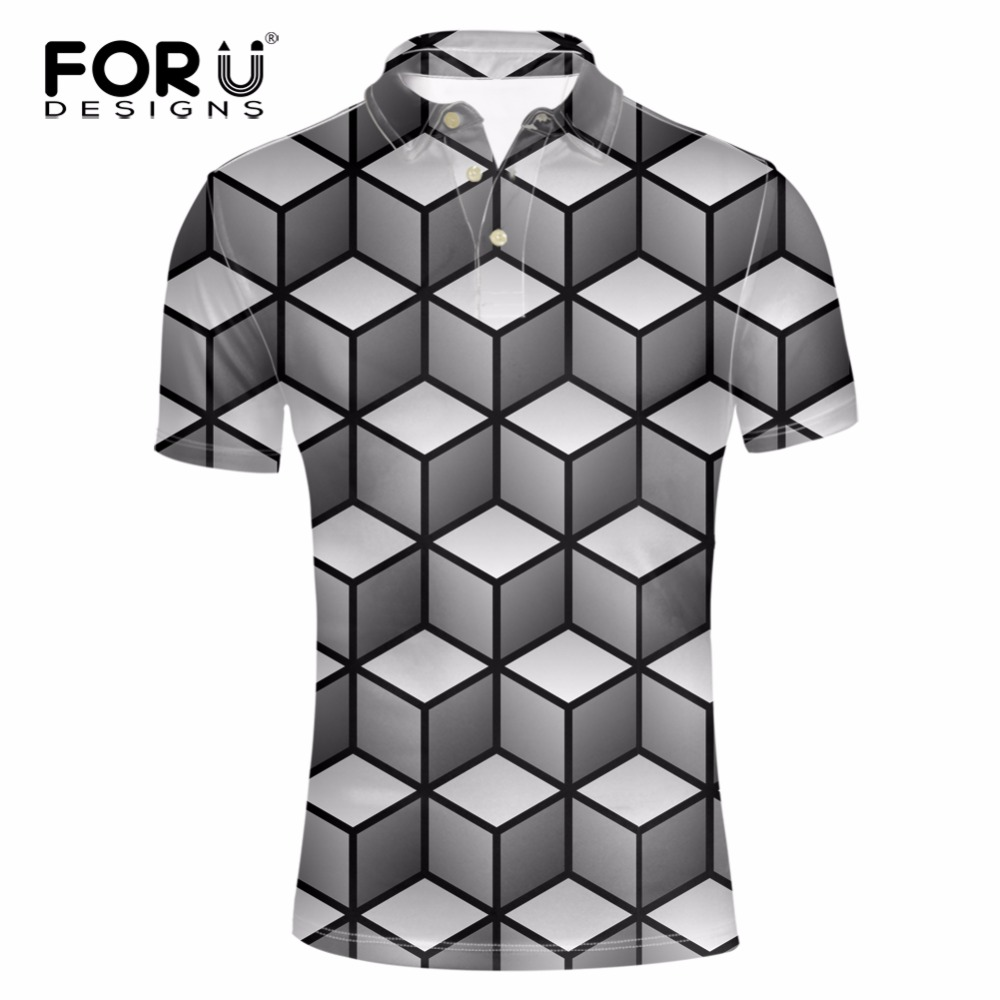 FORUDESIGNS 2017 Fashion Mens Polo Shirt Summer Breathable Tops Mixed Color Men Polo Fitness Male Tee Brand Teen Clothing Casual