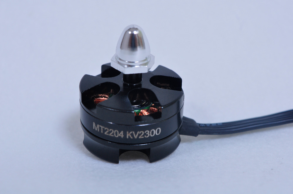Sin escobillas Motores mt2204 2300kv brushless Motores CW/CCW para mini 200 210 230 250mm quadcopter 250