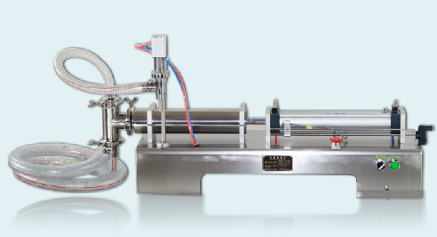 5-100ml Single head horizontal pneumatic liquid Filler for shampoo, water + Manual Stainless Steel Sausage Stuffer Filler 3L 220v single head liquid horizontal pneumatic quantitative filling machine zy g1wy free tax to ru
