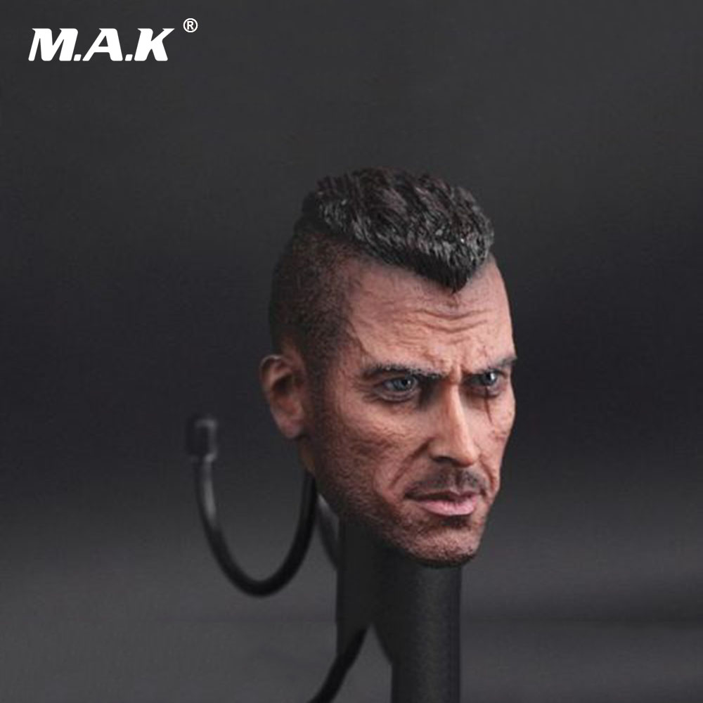 1:6 Scale Accessory Male Head Sculpt Ghosts Head Soap Sculpt Carving For 12 Man Action Figure 1 6 scale iron man mk7 tony wounded head sculpt carving with mask cgl t 07 male headplay for 12 inches action figure