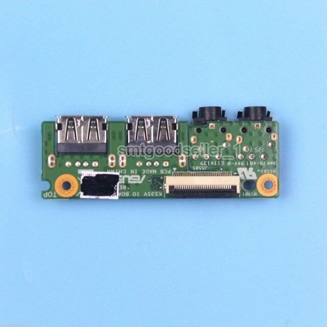Оригинальный USB AUDIO JACK СОВЕТ ДЛЯ ASUS K53 K53SV K53SD A53S X53S K53S P53S IO ДОСКА