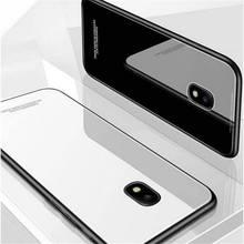 Tempered Glass Case For Samsung Galaxy A9 A6 A8 Plus A7 2018 A750 J4 J6 Plus S10 Lite J3 J5 J7 2017 J2 Prime J4 Core Back Cover стоимость