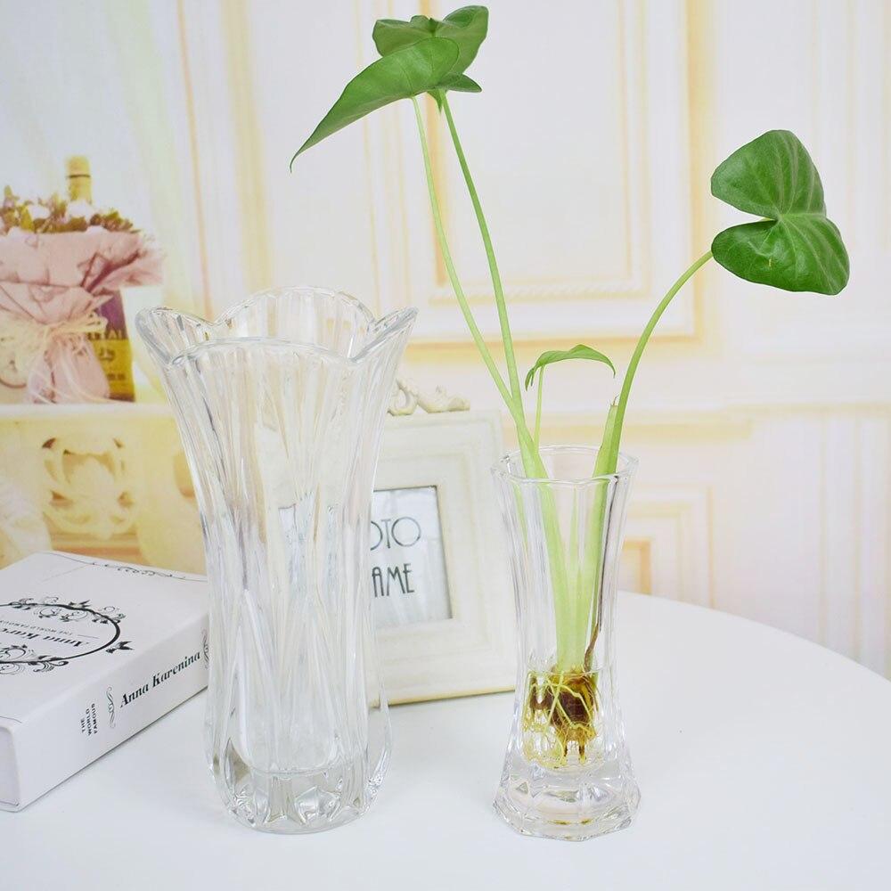 Современные искусственные цветы ваза украшения дома старинные стекло Террариум ваза для свадеб таблице Гостиная декоративные
