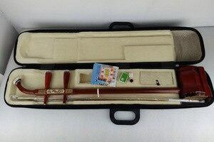 Image 5 - 中国蘇州二胡品質マホガニー骨彫刻二胡プロ 2 弦擦楽器中国二胡