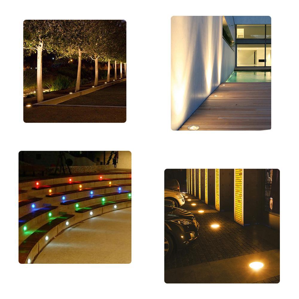 Ultimate SaleLED Underground light 5W 10W COB Floor Lamp Outdoor Ground Spot Landscape Garden Square Path Buried Yard 85-265V DC12V 24V IP68