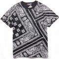 Bandana Shirt Cotton West Cashew T Shirt Bandana 2016 Men Fashion Camisa Hip  Hop Bandana T Shirt 3 Colors