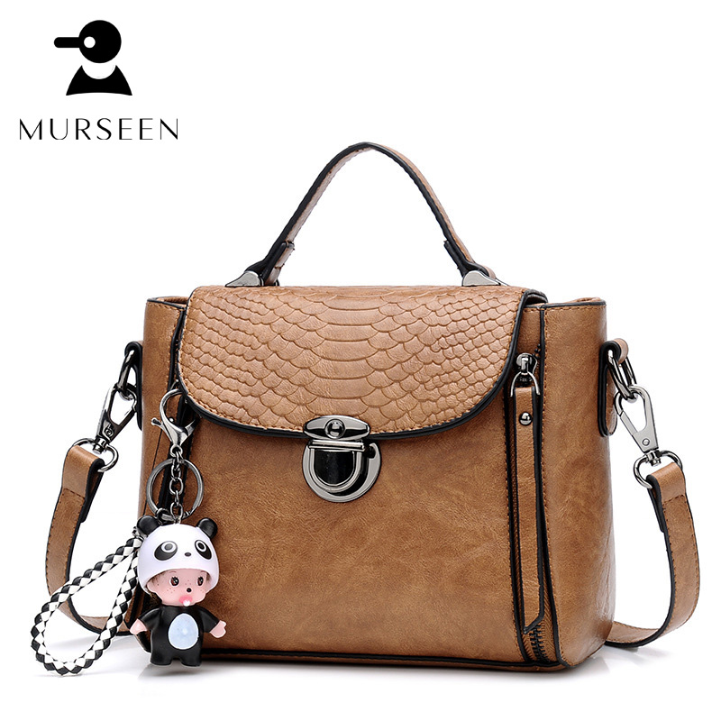 2018 Luxury Brands Women Leather Handbags Vintage Messenger Bag Designer Solid Flap Soft Crossbody Shoulder Bag Sac A Main Brown 2018 floral luxury handbags women bag designer pu leather bag women messenger bags small chain crossbody shoulder bag sac a main