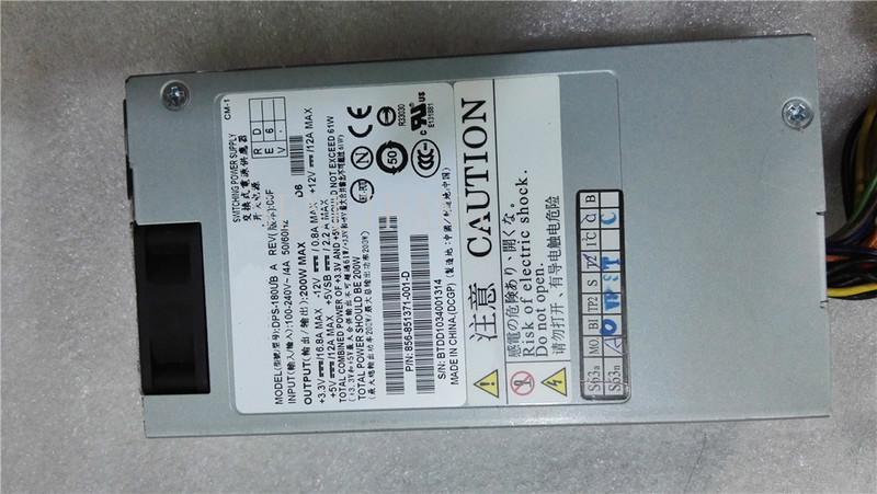 Free Shipping Quality 100% Power Supply For DPS-180UB A 200W Fully Tested.