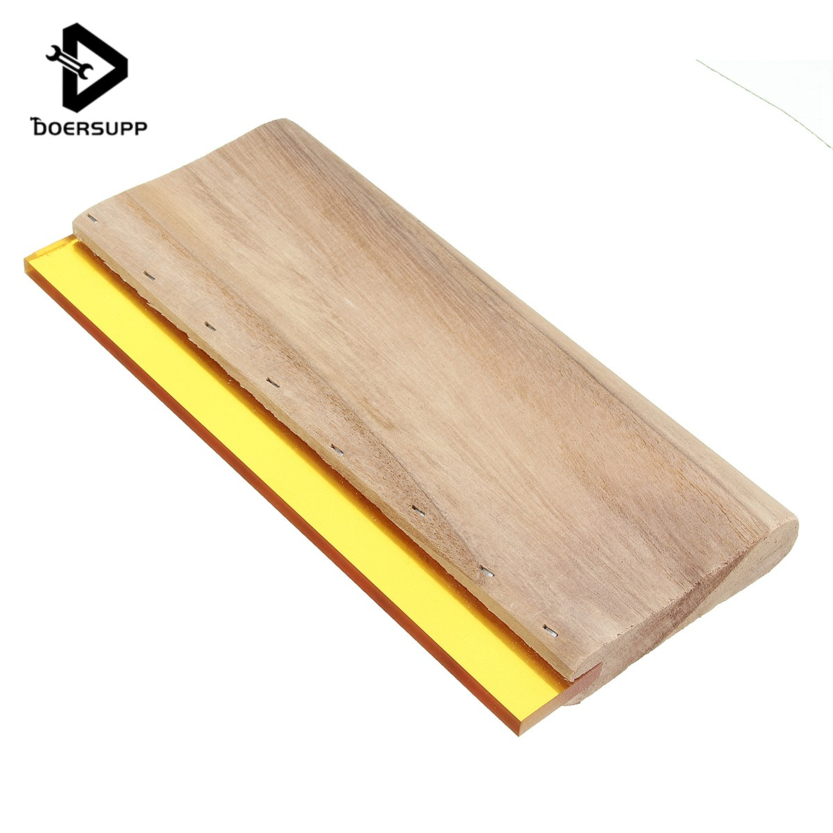 Doersupp 9'' 22cm High Quality Silk Screen Printing Wood Wooden Squeegee Ink Scaper Scratch Board Tool free shipping discount cheap 2 pcs silk screen printing squeegee 24cm 33cm 9 4 13inch ink scaper tools materials