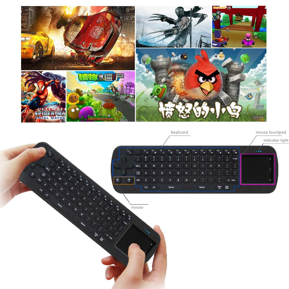 RC12 2.4G Air mouse Wireless Keyboard & touchpad Remote Control for Android TV Box mini PC Projector neworig keyboard bezel palmrest cover lenovo thinkpad t540p w54 touchpad without fingerprint 04x5544