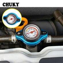 CHUKY автомобильный резервуар для воды термостатический колпачок радиатора с термометром аксессуары для Nissan Qashqai Opel Astra J H Kia