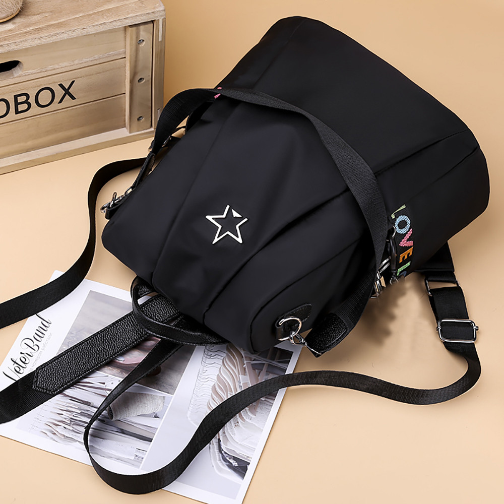 Masion Fabre Shoulder Bag Anti-theft Backpack Bag Personality Wild Oxford Cloth Small Backpack Bags For Women Mochila Feminina